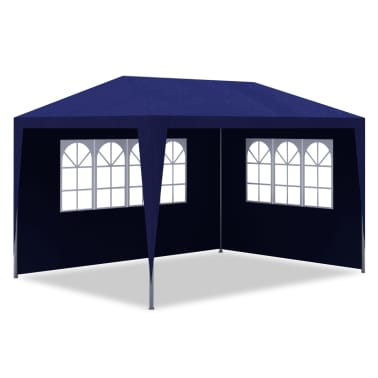 vidaXL Party Tent 3x4 m Blue[3/7]