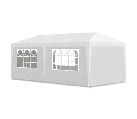 vidaXL Party Tent 3x6 m White