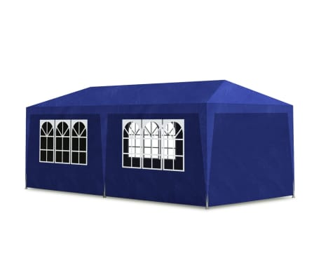 vidaXL Party Tent 10'x20' Blue