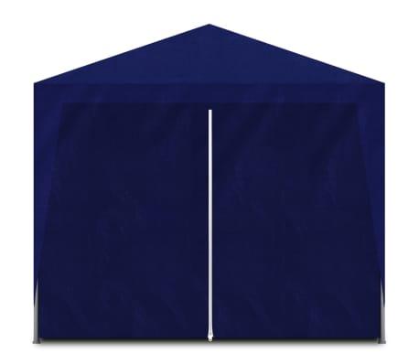 vidaXL Tente de réception 3 x 6 m Bleu[3/6]