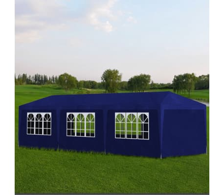 vidaXL Party Tent 10'x30' Blue[1/6]