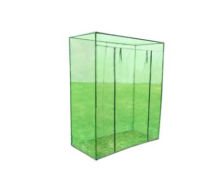 vidaXL Serre avec cadre en acier PVC