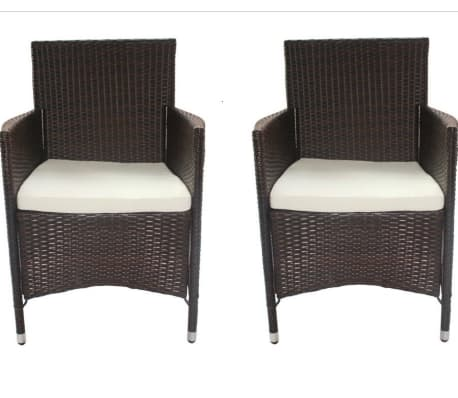 acheter lot de 2 fauteuils de jardin en r sine tress e pas cher. Black Bedroom Furniture Sets. Home Design Ideas