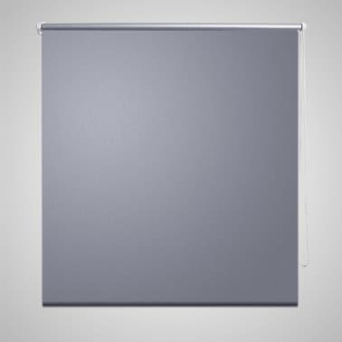 Roller Blind Blackout 100 x 175 cm Grey[1/4]