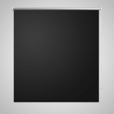 Estor Persiana Enrollable 100 x 175cm Negro[1/4]