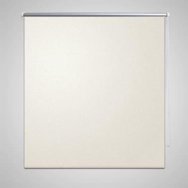 Roller Blind Blackout 120 x 175 cm off White[1/4]
