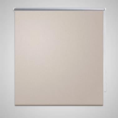 vidaXL Persiana opaca enrollable color café 120x175 cm[1/4]