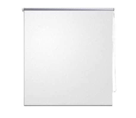 Roller blind blackout 140 x 175 cm white