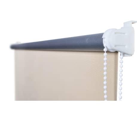 Rullgardin brun 140 x 175 cm mörkläggande[3/4]