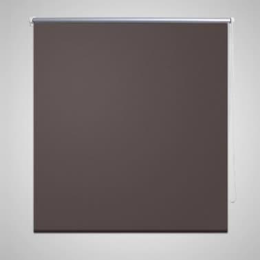 Rullgardin brun 140 x 175 cm mörkläggande[1/4]