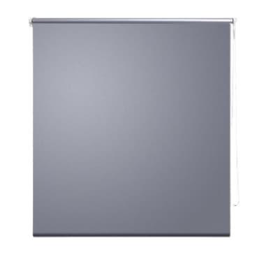 Zatemňovací látková roleta - 140 x 175 cm - šedá[2/4]