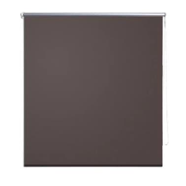 Rullgardin brun 160 x 175 cm mörkläggande[2/4]