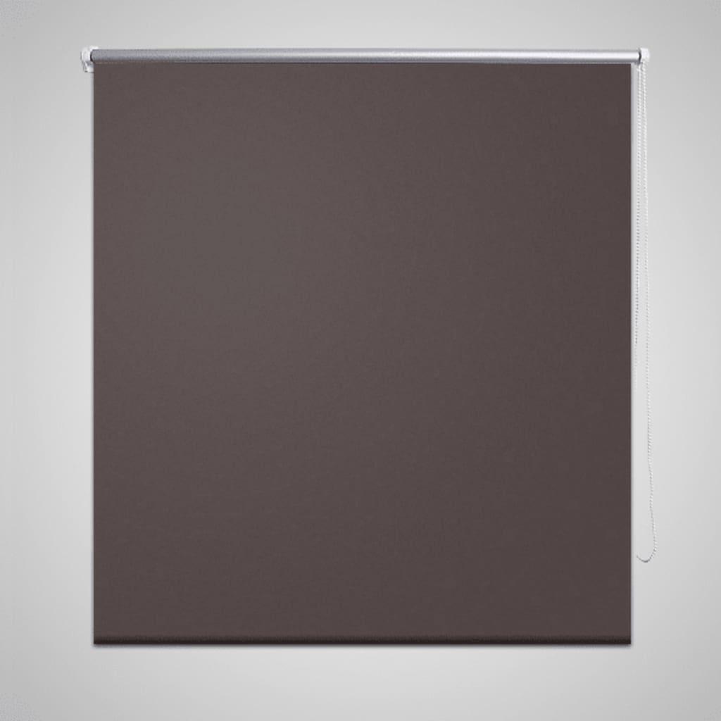 <ul><ul><li>Material:100 % Polyester, mit Metallwelle 18 mm (Durchmesser)</li><br><li>Kette 180 cm lang, Kettenfarbe: weiß</li><ul><li><strong>Größen:</strong> 160 x 175 cm (BxH)</li><br><li><strong>Farbe:</strong> braun</li><li>Material: Polyester: 100%</li></ul>