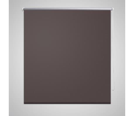 Rullgardin brun 160 x 175 cm mörkläggande[1/4]