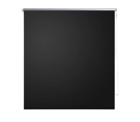 Rullgardin svart 160 x 175 cm mörkläggande[2/4]