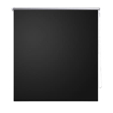 Rolgordijn verduisterend 160 x 175 cm zwart[2/4]