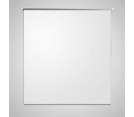 Roller Blind Blackout 80 x 230 cm White[1/4]