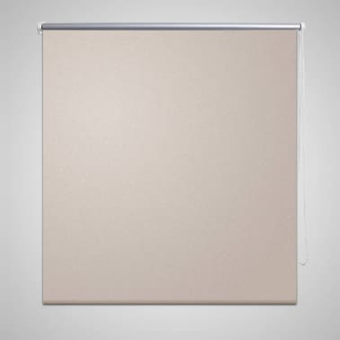 Zatemňovací látková roleta - 80 x 230 cm - béžová[1/3]