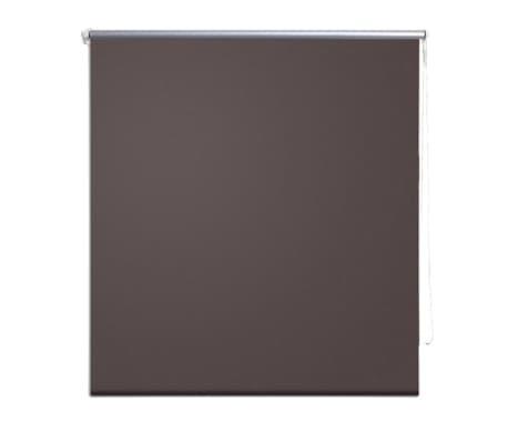 Rullgardin brun 80 x 230 cm mörkläggande[2/4]
