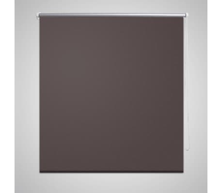 Rullgardin brun 80 x 230 cm mörkläggande[1/4]