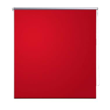 Verdunkelungsrollo 80 x 230 cm rot[2/4]