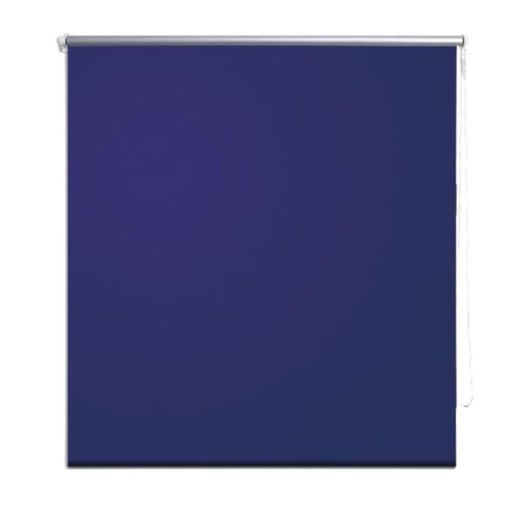 Rolgordijn verduisterend 80 x 230 cm marineblauw