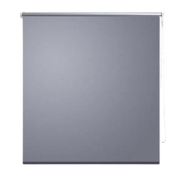 Rullgardin grå 80 x 230 cm mörkläggande[2/4]