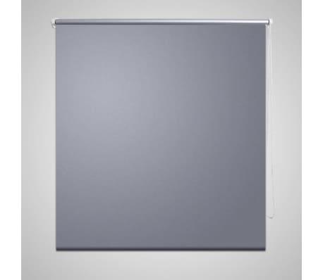Rullgardin grå 80 x 230 cm mörkläggande[1/4]