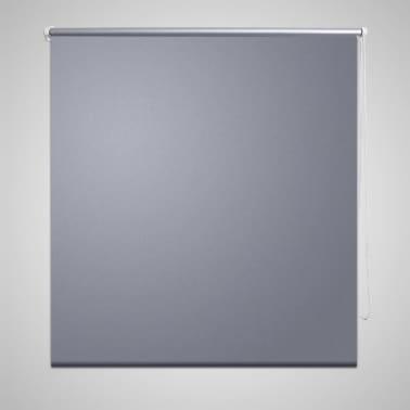 Verdunkelungsrollo 80 x 230 cm grau[1/4]