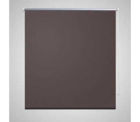 Rullgardin brun 100 x 230 cm mörkläggande[1/4]
