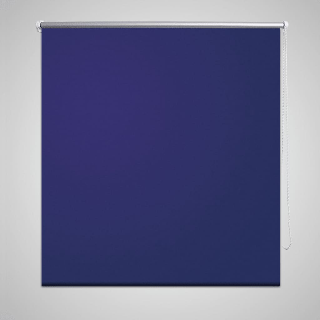 vidaXL Rullegardin Blackout 100 x 230 cm Marine