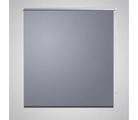 Estor Persiana Enrollable 100 x 230 cm Gris[1/4]