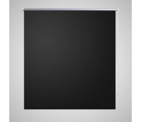Estor Persiana Enrollable 100 x 230 cm Negro[1/4]