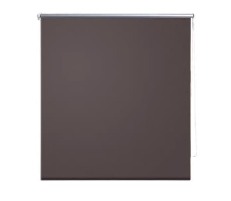 Roller Blind Blackout 120 x 230 cm Coffee[2/4]