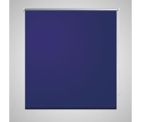 Mørklægningsrullegardin 120 x 230 cm marineblå[1/4]