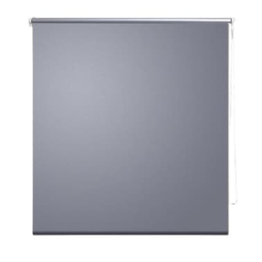 Roller Blind Blackout 120 x 230 cm Grey[2/4]