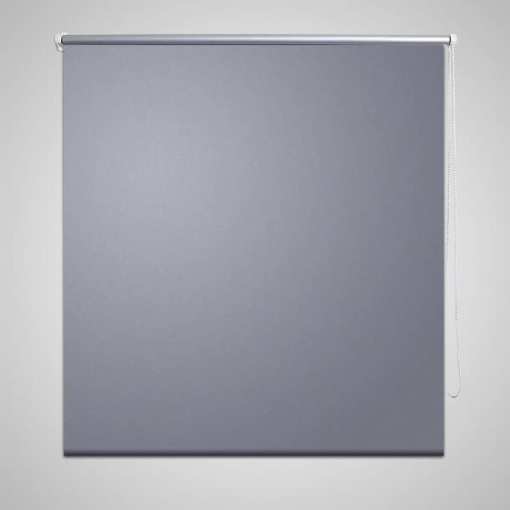 vidaXL Rullegardin blackout 120 x 230 cm Grå