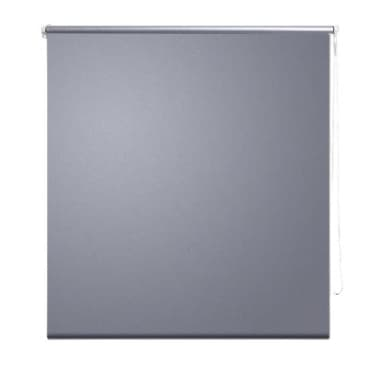 Roller Blind Blackout 140 x 230 cm Grey[2/4]