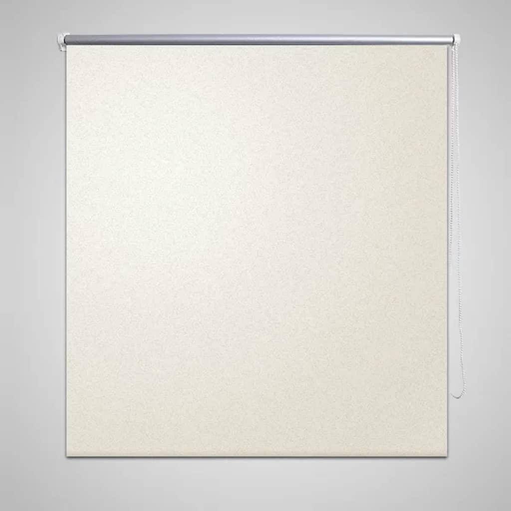 vidaXL Rullegardin 160 x 230 cm beige-hvit
