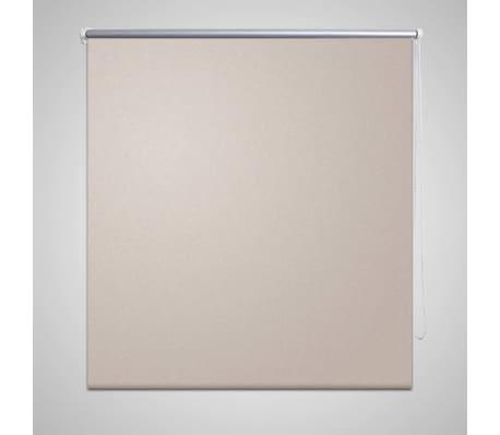 Rullgardin beige 160 x 230 cm mörkläggande[1/4]