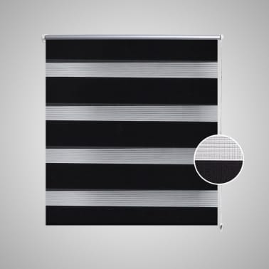 Roleta den a noc / Zebra / Twinroll 40x100 cm černá[3/6]