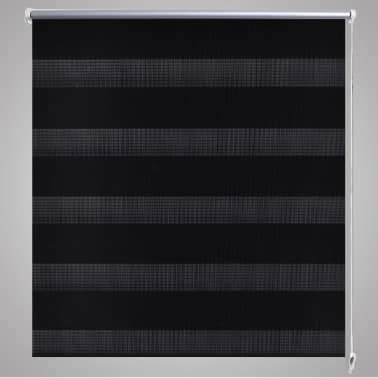 Roleta den a noc / Zebra / Twinroll 40x100 cm černá[4/6]