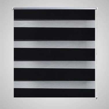 Roleta den a noc / Zebra / Twinroll 40x100 cm černá[1/6]