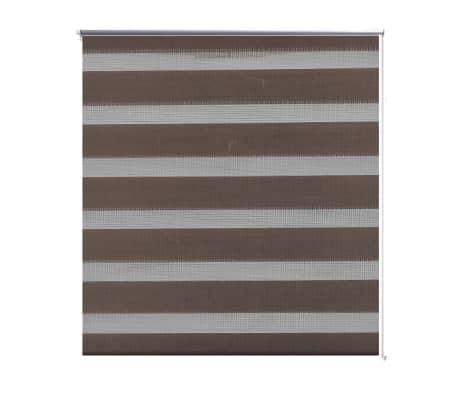 Zebra Žaliuzė, Roletas 50 x 100 cm, Kavos Spalvos