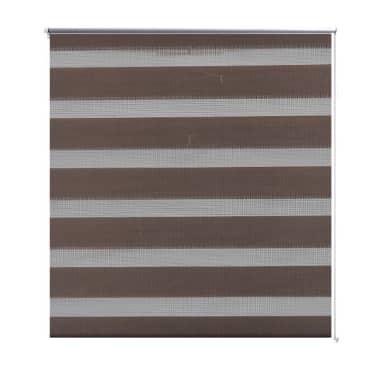Zebra Žaliuzė, Roletas 50 x 100 cm, Kavos Spalvos[2/6]
