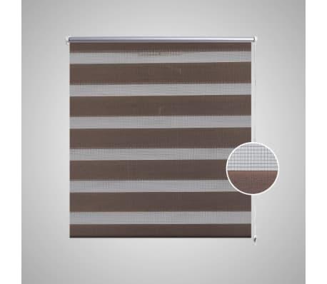 Zebra Žaliuzė, Roletas 50 x 100 cm, Kavos Spalvos[3/6]