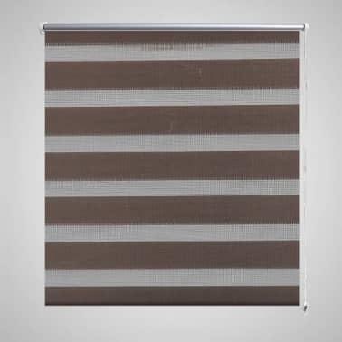 Zebra Žaliuzė, Roletas 50 x 100 cm, Kavos Spalvos[1/6]