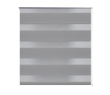 Tenda a rullo oscurante zebra 80x150cm grigia[2/6]