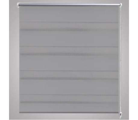 vidaXL Store 80 x 150 cm Gris[4/6]