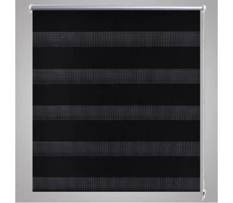 doppelrollo seitenzug duo rollo 80 x 175 cm schwarz g nstig kaufen. Black Bedroom Furniture Sets. Home Design Ideas